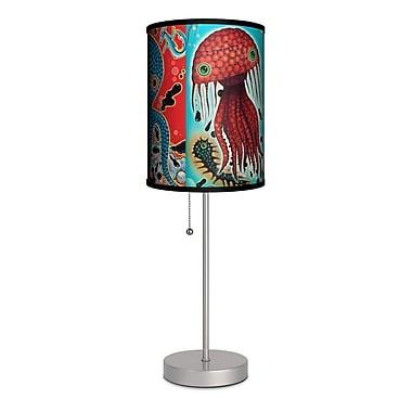 Lamp-In-A-Box Artist Joel Nakamura ''Sea'' 20'' Table Lamp