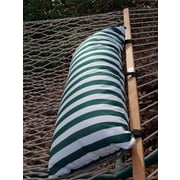 Twin Oaks Hammocks Sunbrella Hammock Outdoor Bolster Pillow; Venice