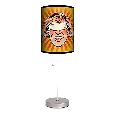 Lamp-In-A-Box Artist Lou Brooks ''Mysterious Mind Reading'' 20'' Table Lamp