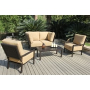 Bellini Monterey 5 Piece Deep Seating Group with Cushions