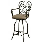 Impacterra Magnolia 26'' Swivel Bar Stool with Cushion