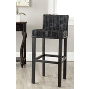Safavieh Carissa 29.5'' Bar Stool; Black
