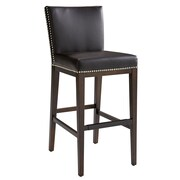 Sunpan Modern 5West Vintage 30'' Bar Stool with Cushion; Brown
