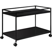 Altra Marshall Coffee Table Cart; Black