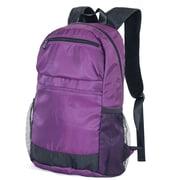 Netpack Ballistic Nylon Packable Travel Backpack; Purple