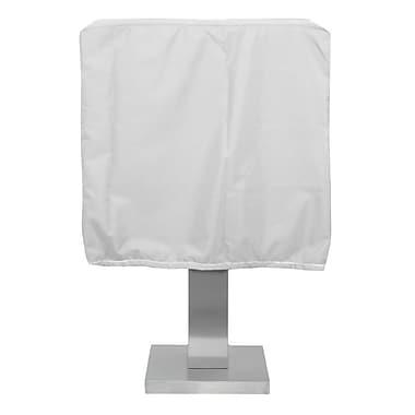 KoverRoos Weathermax Pedestal Barbecue Cover; White