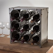 Wildon Home   9 Bottle Tabletop Wine Rack