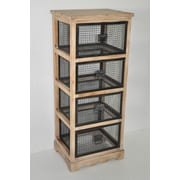 Cheungs 4 Drawer Cabinet