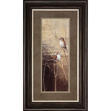 Propac Images Sparrows Dusk 2 Piece Framed Painting Print Set