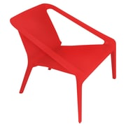 LumiSource Transitions Arm Chair; Red