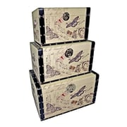 Cheungs Trunks with Butterflies II (Set of 3)