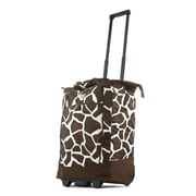 Olympia Fashion Giraffe Rolling Shopping Tote