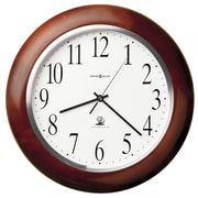 Howard Miller Radio Controlled Murrow Adjusted Atomic 13.75'' Wall Clock