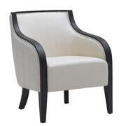 Sunpan Modern 5West Newport Arm Chair; Cream