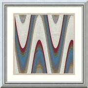 Amanti Art 'Radio Waves II' by Ricki Mountain Framed Painting Print