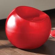 Standard Furniture Ergo Bar Stool; Red