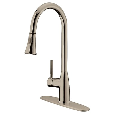 LessCare Single Handle Pull-Down Kitchen Faucet