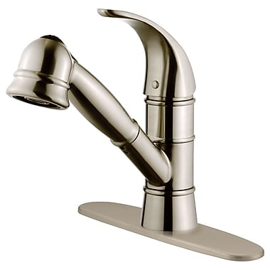 LessCare Single Handle Pull-Out Kitchen Faucet