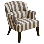 Home Loft Concepts Drake Stripe Lounge Chair