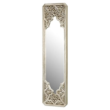 Bailey Street Messina Wall Mirror in Black & Silver