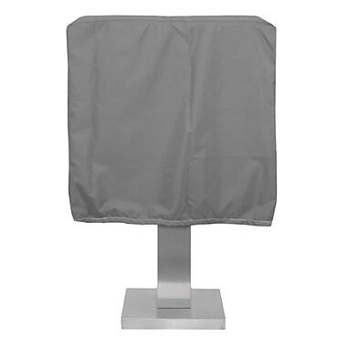 KoverRoos Weathermax Pedestal Barbecue Cover; Grey