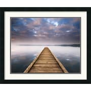 Amanti Art 'Lake Walk III' by Jonathan Chritchley Framed Painting Print