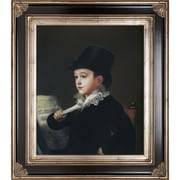 Tori Home Portrait of Mariano Francisco Goya Framed Hand Painted Oil on Canvas