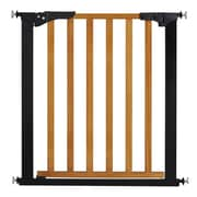 KidCo Designer Gateway Wood and Metal Pressure Baby Gate; Oak