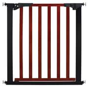 KidCo Designer Gateway Wood and Metal Pressure Baby Gate; Cherry