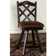 Sunny Designs Santa Fe 24'' Swivel Bar Stool with Cushion