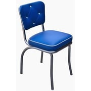Richardson Seating Retro Home Side Chair; Royal Blue