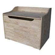 International Concepts Unfinished 29'' Storage Trunk