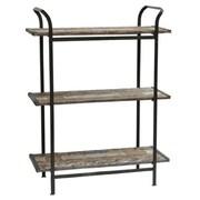 Crestview Industrial 3 Tier Shelf 49.5'' Accent Shelves