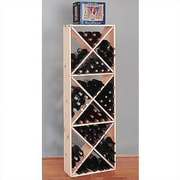 Wine Cellar Country Pine Solid 132 Bottle Floor Wine Rack