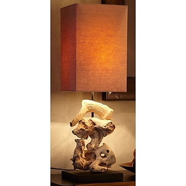 Bellini Modern Living 28'' H Table Lamp with Rectangular Shade