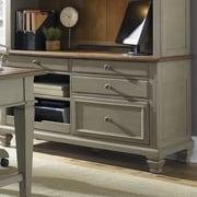 Liberty Furniture Jr Executive Credenza Desk Base; Taupe