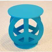 Mega Home End Table; Blue