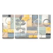 Artefx Decor Sunlight In Textured Triptych by Studio 212 3 Piece Painting Print on Canvas Set