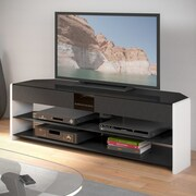 CorLiving Santa Brio TV Stand; White