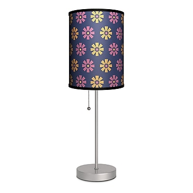 Lamp-In-A-Box Decor Art Flower 20'' Table Lamp