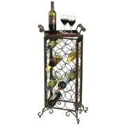 Howard Miller Butler 21 Bottle Floor Wine Rack