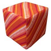Divine Designs Sunrise Cube Ottoman