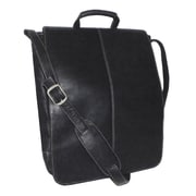 Royce Leather Genuine Leather Vaquetta 17'' Vertical Laptop Messenger Bag