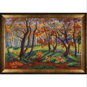 Tori Home The Clearing or Edge of the Wood by Paul-Elie Ranson Framed Hand Painted Oil on Canvas