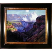 Tori Home Looking Across the Grand Canyon by Potthast Framed Hand Painted Oil on Canvas