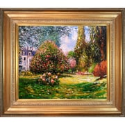 Tori Home Il Parco Monceau by Monet Framed Hand Painted Oil on Canvas