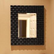 Howard Elliott Justin Mirror; Glossy Black