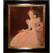 Tori Home Portrait of Sonja Knips by Gustav Klimt Framed Painting