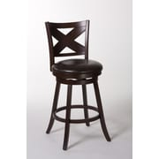 Hillsdale Ashbrook 25.75'' Swivel Bar Stool with Cushion
