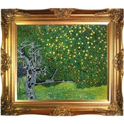 Tori Home Golden Apple Tree (Luxury Line) by Klimt Framed Hand Painted Oil on Canvas